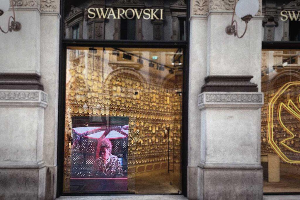 comunicazione e marketing Swarovski